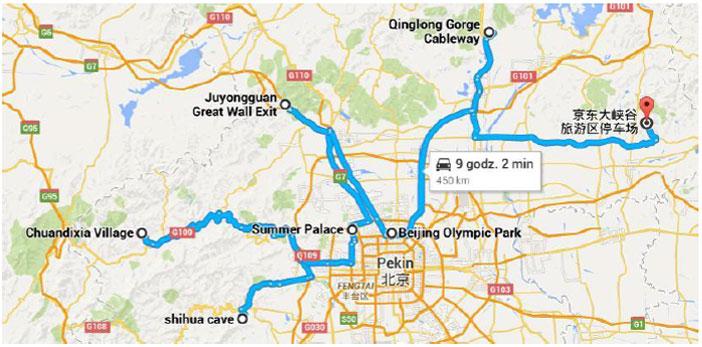 pekin-routes